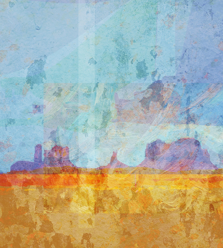 Monument VAlley Mural by Malixx