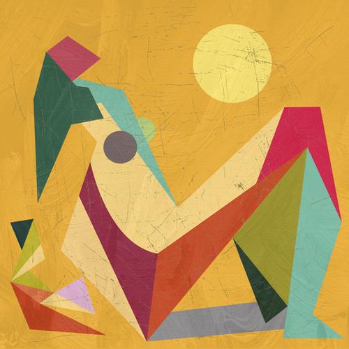 Glaring Sunlight Mural by Vic Storia