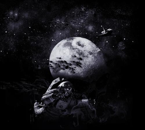 Dark of the Moon Mural by dEMOnyo