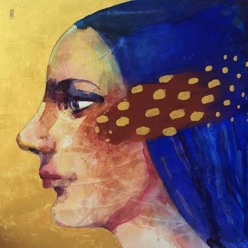 Profilo di donna Mural by andreuccettiart