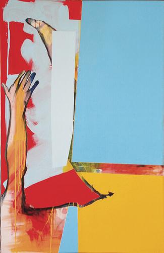 Vers Le Ciel Mural by Pierre-Michael Faure