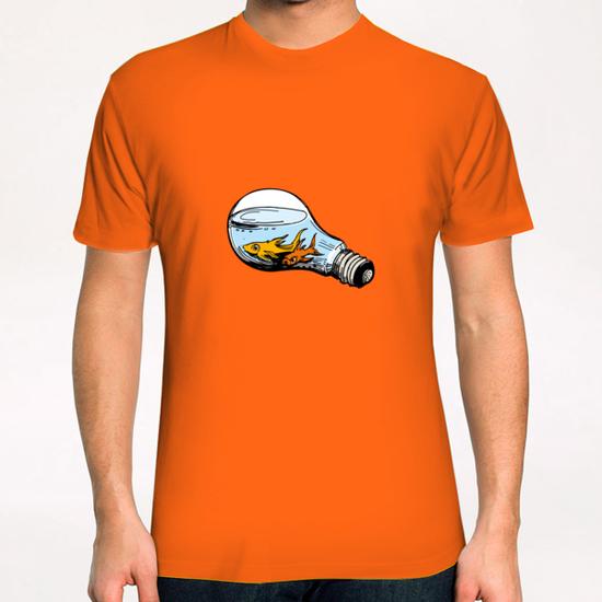 Fishes-Bulb T-Shirt by Georgio Fabrello