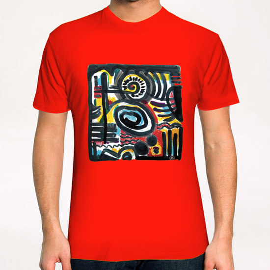 Eclosion T-Shirt by Denis Chobelet