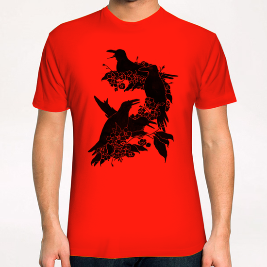 A Feast For Crows T-Shirt by Tobias Fonseca