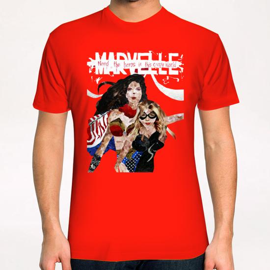 need the heros in this crazy world T-Shirt by frayartgrafik
