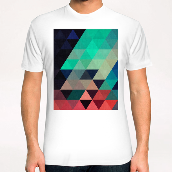 Pattern cosmic triangles I T-Shirt by Vitor Costa