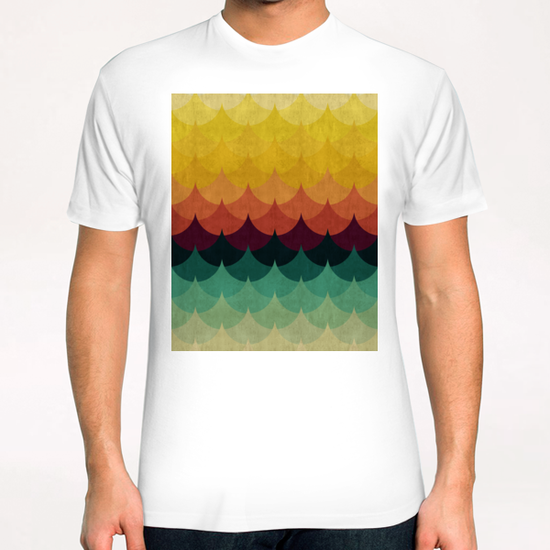 Waves at sunset T-Shirt by Vitor Costa