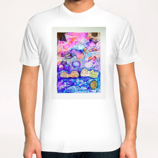 Cloud Formation T-Shirt by Heidi Capitaine