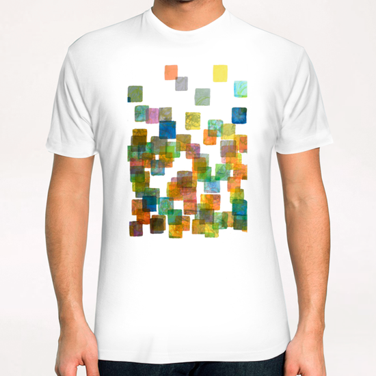Dancing Squares T-Shirt by Heidi Capitaine