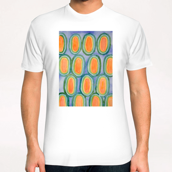 Ovals In Front Of The Sky T-Shirt by Heidi Capitaine