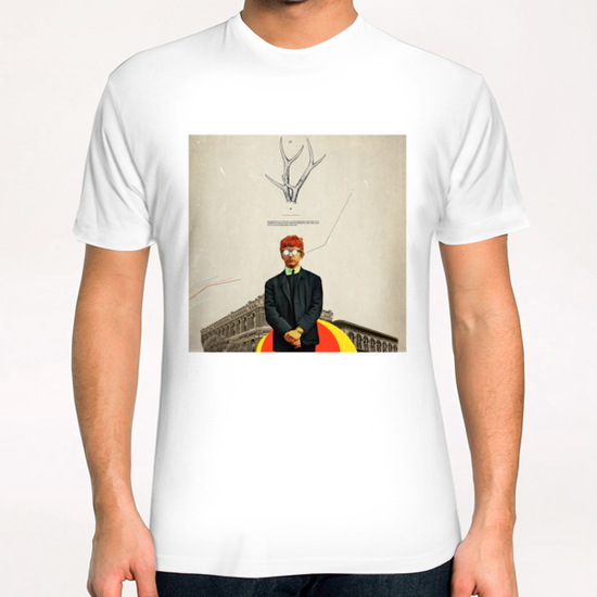 Bright Posture T-Shirt by Frank Moth
