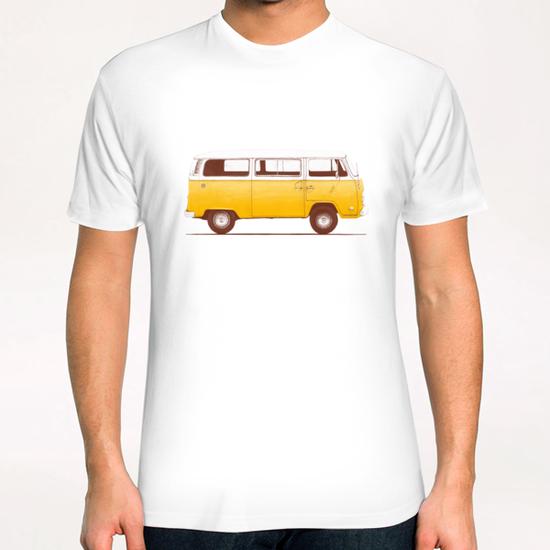 Yellow Van T-Shirt by Florent Bodart - Speakerine
