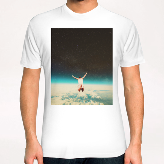 Falling With A Hidden Smile T-Shirt by Frank Moth