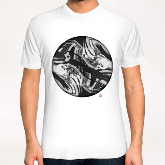 Lina 6 T-Shirt by Denis Chobelet