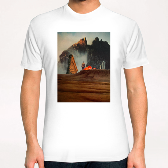 My Worlds Fall Apart T-Shirt by Frank Moth