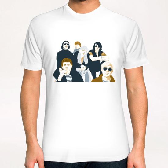 VELVET UNDERGROUND T-Shirt by Francis le Gaucher