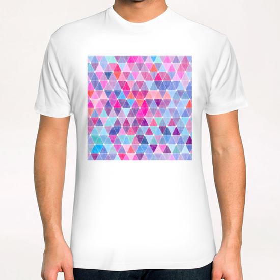 Colorful Geometric II T-Shirt by Amir Faysal