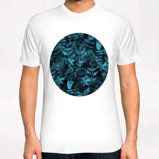 Abstract Botanical Garden  T-Shirt by Amir Faysal