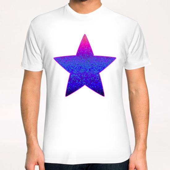 Glitter Star Dust G11 T-Shirt by MedusArt