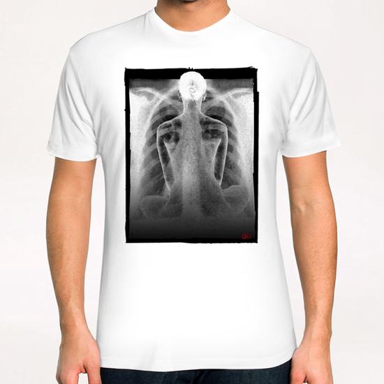lina # 20 T-Shirt by Denis Chobelet