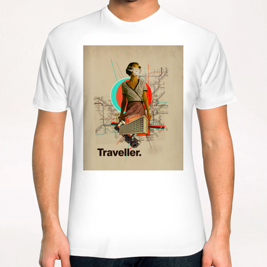 Traveller T-Shirt by Frank Moth