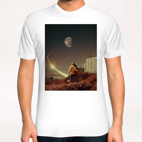 We Used To Live There, Too T-Shirt by Frank Moth