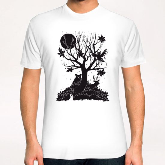 Autumn Forest T-Shirt by Tobias Fonseca