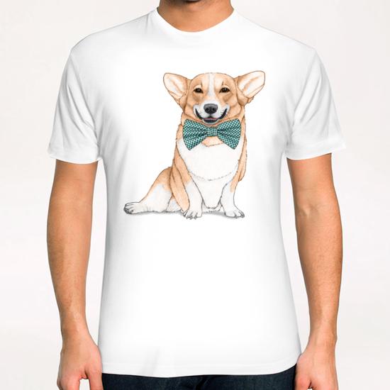 Corgi Dog T-Shirt by Barruf