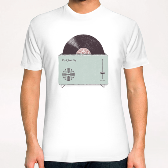 High Fidelity T-Shirt by Florent Bodart - Speakerine