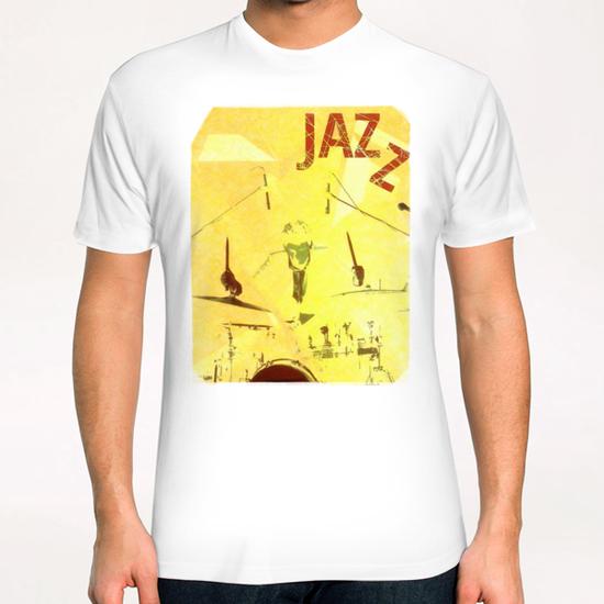 Jazz Poster T-Shirt by cinema4design