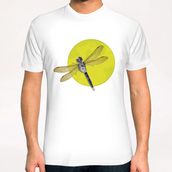 Mecanical Dragonfly T-Shirt by tzigone