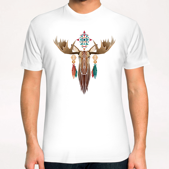 moose T-Shirt by Manoou