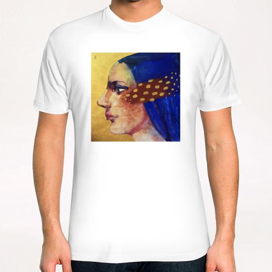 Profilo di donna T-Shirt by andreuccettiart