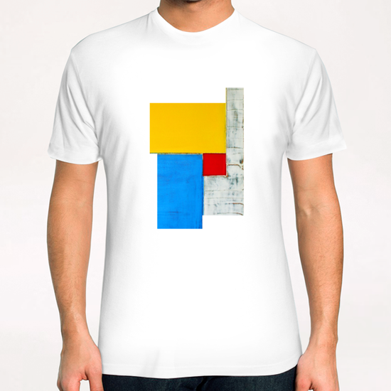 Red Square T-Shirt by Pierre-Michael Faure