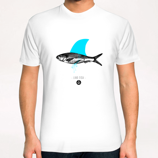 Liar Fish T-Shirt by Alfonse