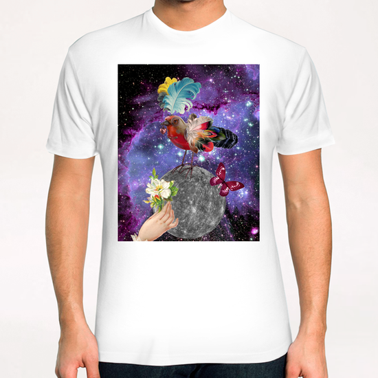 STEAMPUNK BIRD T-Shirt by GloriaSanchez