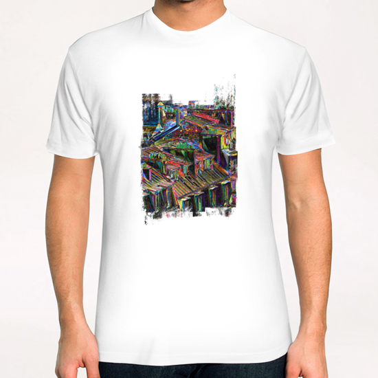 Roofs in Paris T-Shirt by Malixx