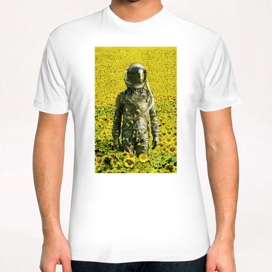 Stranded in the sunflower field T-Shirt by Seamless