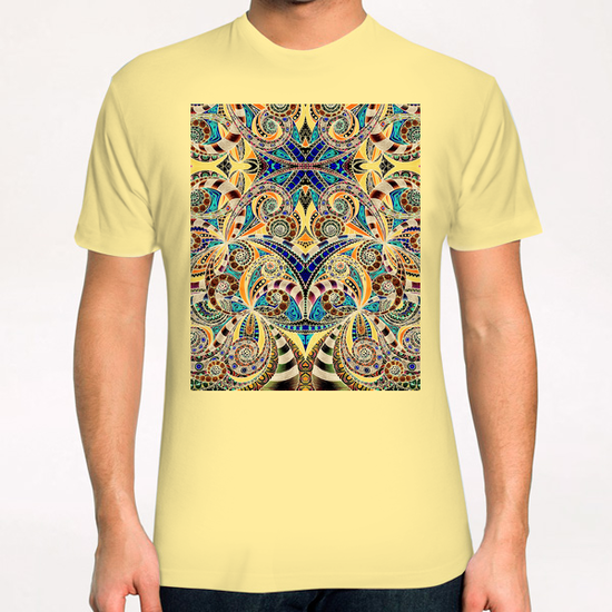 Drawing Floral Zentangle G1 T-Shirt by MedusArt